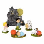 Peanuts Haunted House, Set of 6