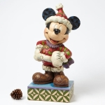 "Winter Mickey Big Fig ""Merry Christmas"""