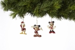 St. Mickey, Mrs. Clause, and Donald Orns, Set of 3