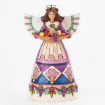Angel with Fruit Tray - Nourish Your Spirit