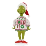 Ugly Sweater Figurine, White