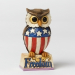 Patriotic Owl Mini