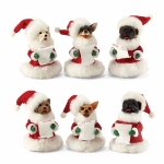 Caroling Dogs, Small, Set of 6