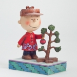 Charlie Brown with Christmas Tree