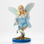 Blue Fairy and Jiminy Cricket