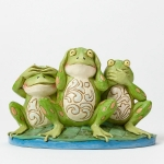 Frogs See Hear Croak No Evil