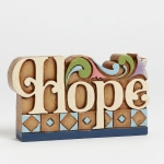 Hope Word Plaque