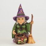 Mini Witch With Couldron