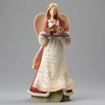 Deluxe Angel with Nativity