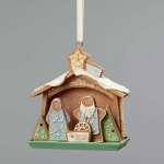 Gingerbread Nativity Orn