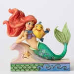 Ariel with Flounder