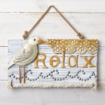 Sandpiper Tin and Wood Sign