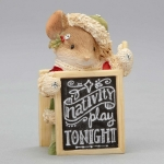 Mouse with Sign Nativity