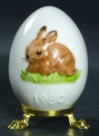 1980 Annual Easter Egg - Rabbit
