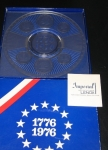 1776- 1976 Imperial Lenox Crystal Coin Glass Plate