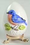 1988 Annual Easter Egg - Bluebird