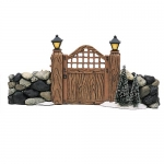 Fieldstone Entry Gate