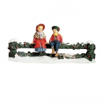 Holly Split Rail Fence With Children