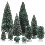 Bag-O-Frosted Topiaries  Small