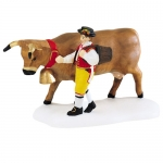 Leading The Bavarian Cow