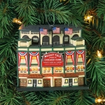 Wrigley Park Ornament