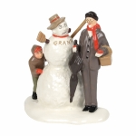 "NR's ""Grandfather and Snowman"""