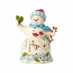 Pint Size Snowman with Candy