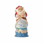 Coastal Santa with Fish Scene