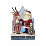 Rudolph and Santa with IceBerg