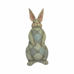 Grey Rabbit Garden Statue
