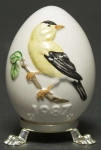 1987 Annual Easter Egg - Goldfinch