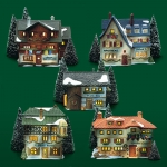Alpine Village (65405 - 65409)