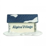 Alpine Village Sign