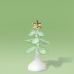 Glittered Glass Tree, Small