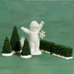 Holly Landscape, Set of 5