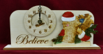Christmas Clock - Believe