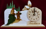 Christmas Clock - Tradition