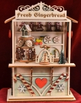 Gingerbread Town Music Box (GMC105)