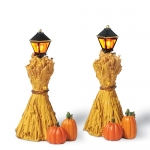 Corn Stalk Lanterns, Set of 2