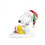 Happy Holiday's Snoopy & Woodstock