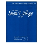 1996 Snow Village History List