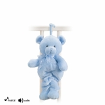 Blue Teddy Bear Musical Pullstring